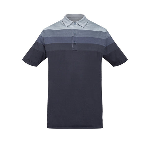 Jack Nicklaus Black Label by Perry Ellis Engineered Jacquard Polo Shirts