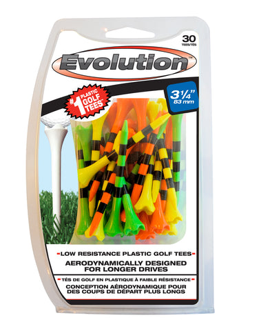 Pride Sports Evolution Striped Golf Tees Fruit