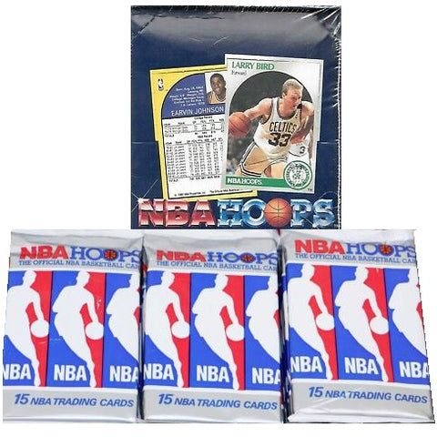 1990 Hoops Series I Basketball Cards Wax Pack
