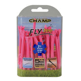 "Champ Fly Tees 3.25"" 25 Count Packs"