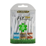 "Champ Fly Tees 4"" 20 Count Packs"