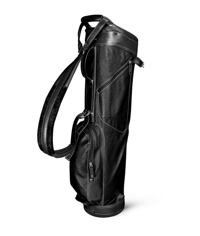 Sun Mountain Golf Leather Sunday Carry Bag