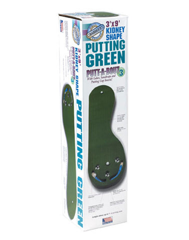 Grassroots Putt-A-Bout Par Three 3 x 9 Putting Green