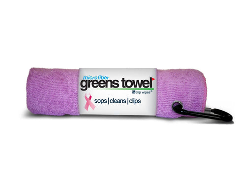 Clip Wipes Microfiber Golf Greens Towel