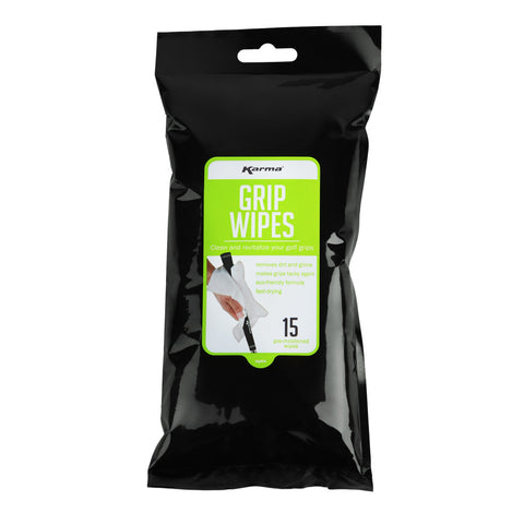 Karma Golf Grip Cleaning Wipes