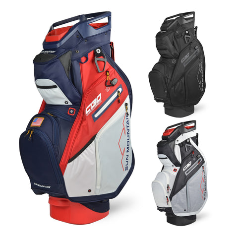 Sun Mountain Golf 2021 C-130 Supercharged Cart Bag