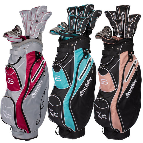 Tour Edge Golf Moda Silk Womens Complete Box Set