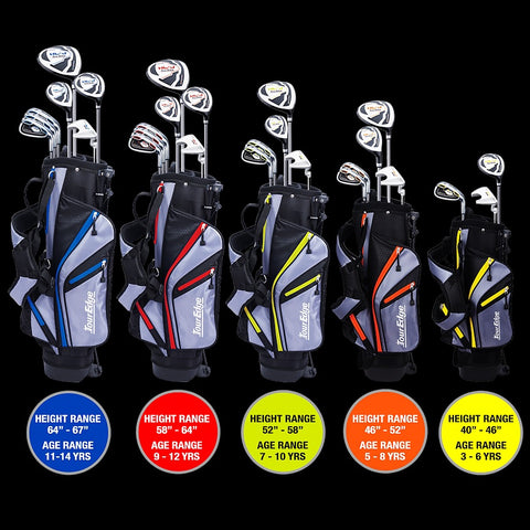 Tour Edge Hot Launch HL-J Junior Sets
