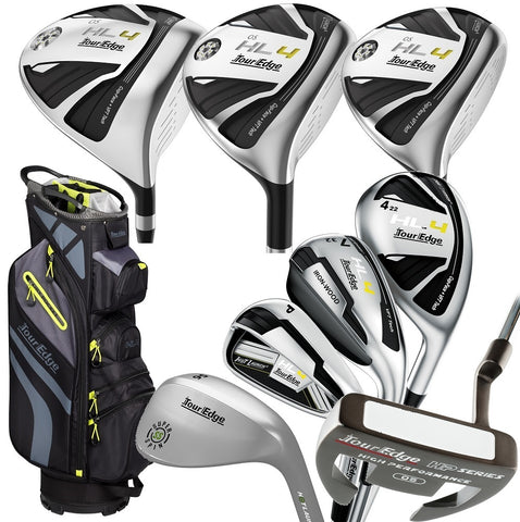 Tour Edge Hot Launch 4 to Go Senior Mens Complete Set