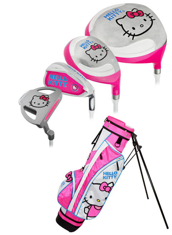 Hello Kitty Golf Go! Girl Junior Sets with Bag