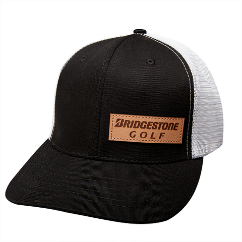 Bridgestone Leather Patch Hat