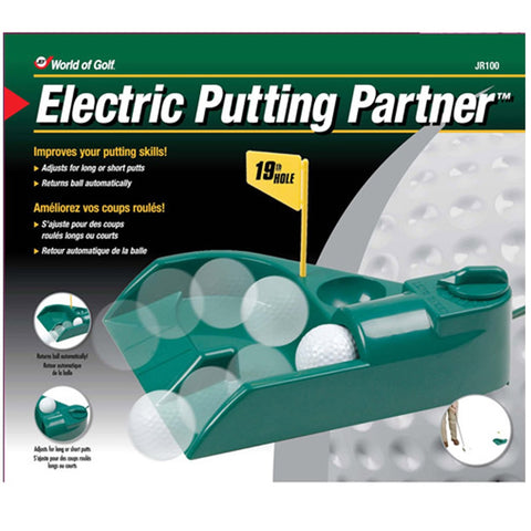 Electronic Putting Partner - World of Golf