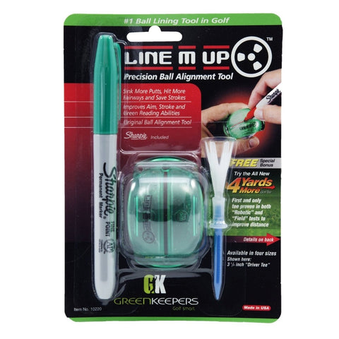 Green Keepers Line M Up Golf Ball Alignment Tool