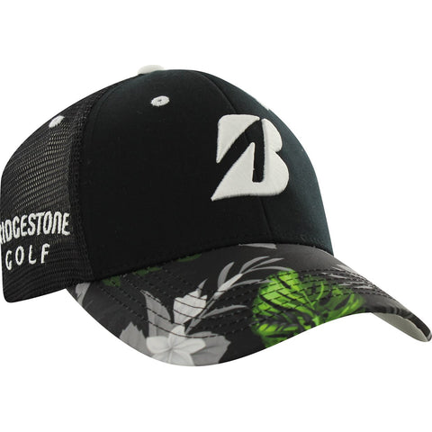 Bridgestone Golf Luau Blackout Adjustable Hat / Cap