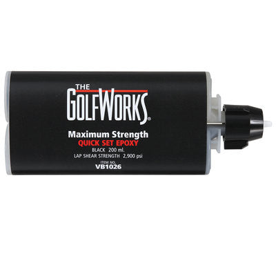 The Golf Works Maximum Strength Quick Set Eoxy - 200ml