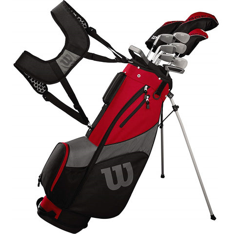 Wilson Golf Profile SGI Complete Mens Golf Club Set with Bag