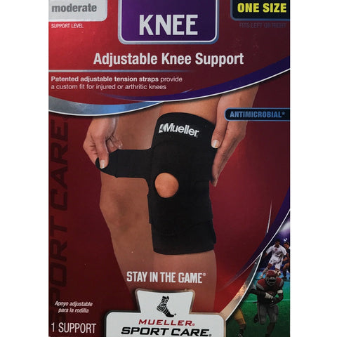 Mueller Sport Care Adjustable Knee Support Brace