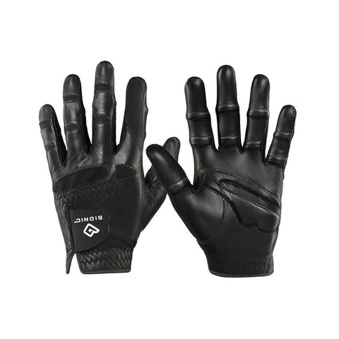 Bionic Men's StableGrip with Natural Fit Black Golf Glove