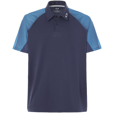 Oakley Golf Mens Aero Motion Short Sleeve Polo
