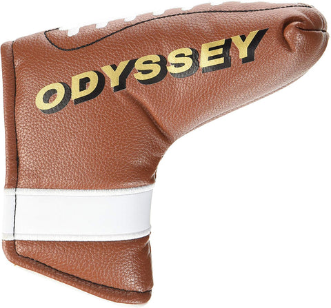 Odyssey Putter Headcover Football (Blade)