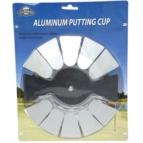 OnCourse Golf Aluminum Putting Cup Disk