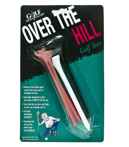 Over The Hill Golf Tees 4 pack