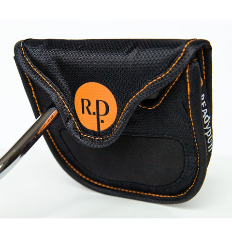ReadyPutt Oversized Putter Head Cover with Ball Cleaner