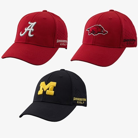 Bridgestone Golf NCAA MVP Performance Caps / Hats