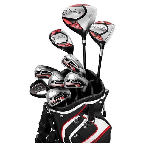 Powerbilt Grand Slam Complete Golf Set Red Series