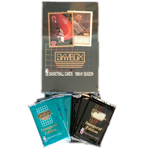 1990 SkyBox Basketball Cards