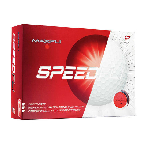 Maxfli SpeedFli Matte Finish Golf Balls
