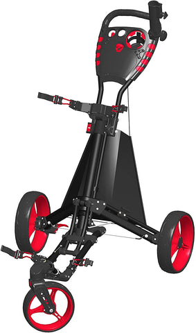 Spin It Golf Easy Drive 3-Wheel Push Cart