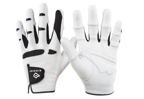 Bionic Men's StableGrip with Natural Fit White Golf Glove