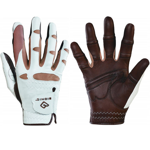 Bionic Golf Women's StableGrip Gloves with Natural Fit Technology