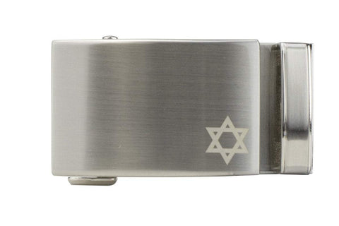 NexBelt Faith Star of David Nickel Buckle Only