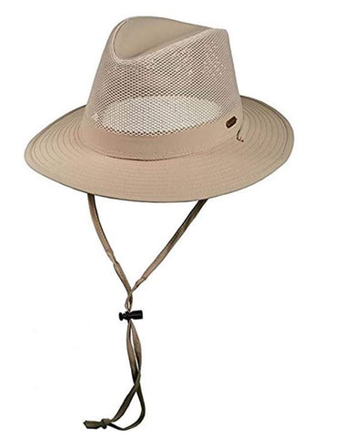 Stetson No Fly Zone Safari Hat STC197- Khaki