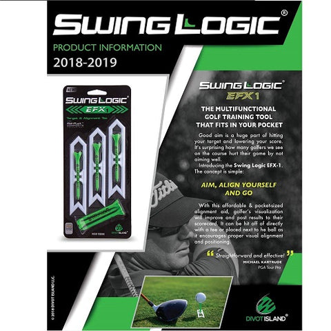 Swing Logic EFX Target and Alignment Tee System