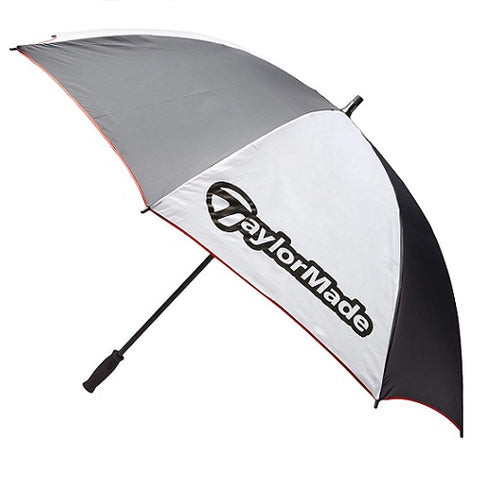 "TaylorMade 60"" Single Canopy Umbrella - White & Black"