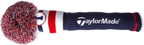 TaylorMade TM15 Pom Driver Headcover Red/White/Blue