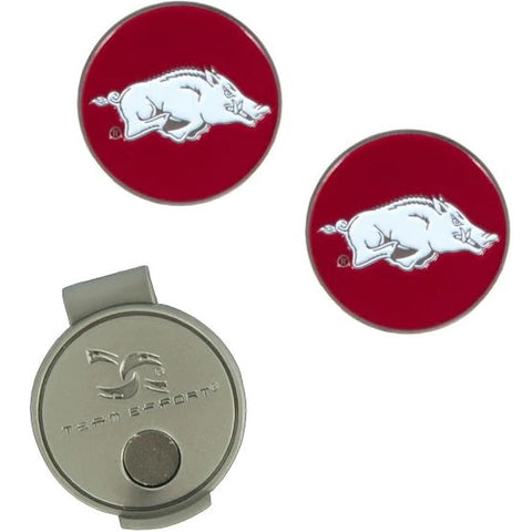 Team Effort Collegiate Hat Clip and 2 Ball Markers