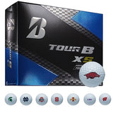 Bridgestone Tour B XS NCAA Licensed Golf Balls