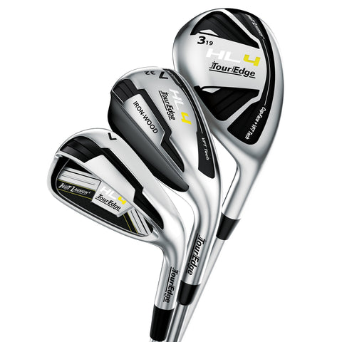 Tour Edge Hot Launch 4 Ladies Triple Combo Hybrid Iron Set
