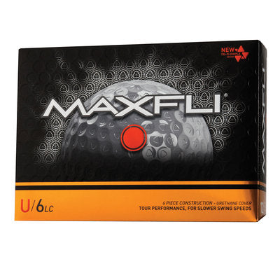Maxfli U/6LC Low Compression Tour Golf Balls