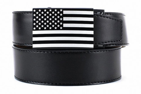 NexBelt  Classic Series Buckle: USA Black