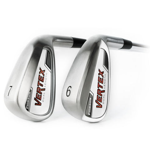 PinHawk Golf Vertex Dual Length Irons