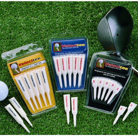 Velocitee Long Distance Angled Unbreakable Golf Tees