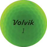 Volvik 2020 Vivid Matte Finish Golf Balls - Sleeve