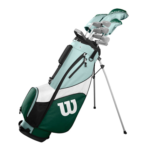 Wilson Golf Profile SGI Complete Womens Golf Club Set with Cart Bag