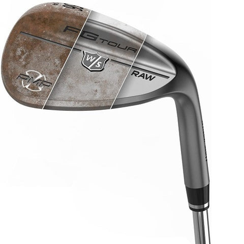 Wilson Staff FG Tour PMP Raw Wedges