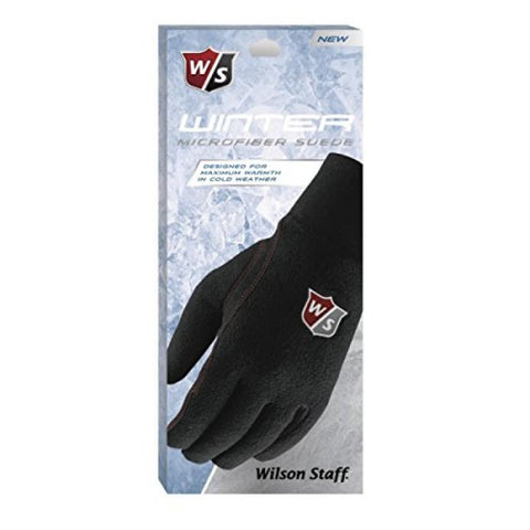 Wilson Staff Winter Microfiber Suede Golf Gloves
